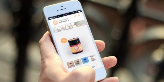 australias manuka honey website development