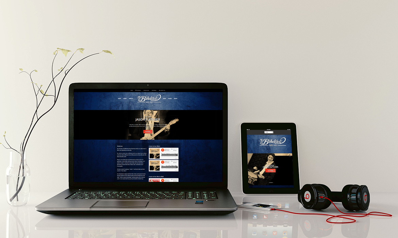 website design and branding sound cloud