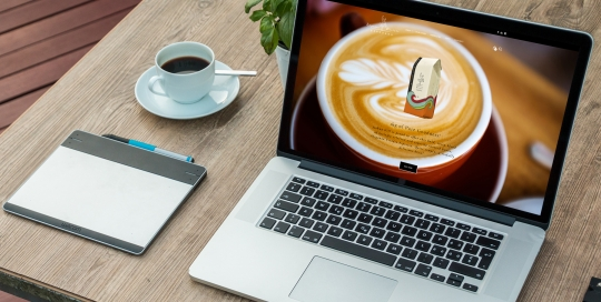 e commerce website coffee beans