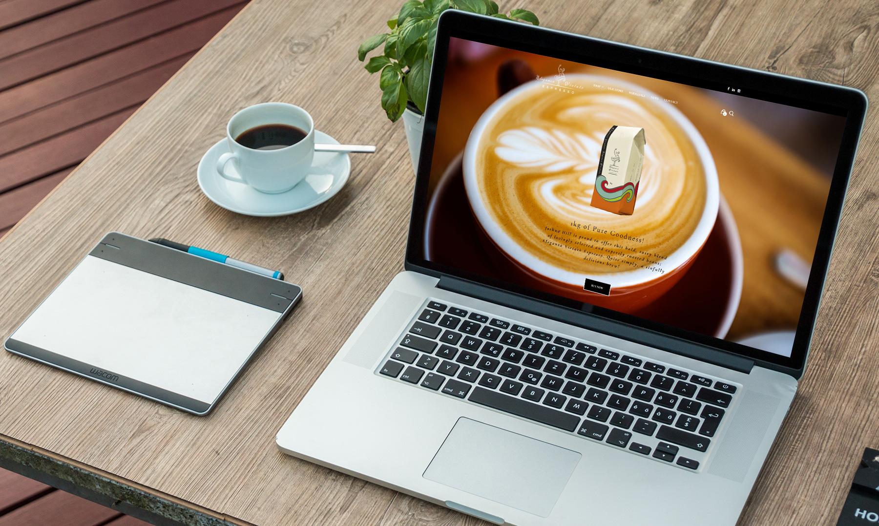 e commerce website coffee beans