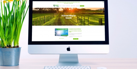 jdz solar web design